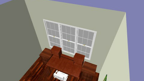 redecorate home office - Rustic - Office - by marleyrusty