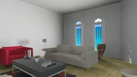 Beach View Living Room - Modern - Living room - by doglover236
