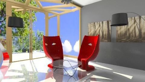 Mask Lounge Roof Window - Minimal - Living room - by david_daniel_beech