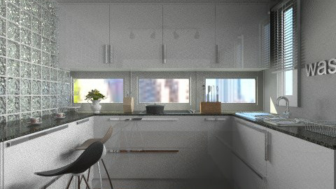 little bit - Modern - Kitchen - by facundo