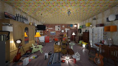 vintage shop - by Spencer Reid