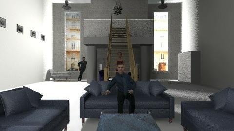 Lisie s living room  - Living room - by juliacavallaro