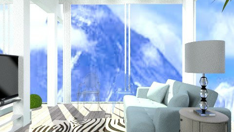 Mountain Home - Modern - Living room - by jessicalove