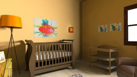 Marigold Nursery_BR4 - Kids room - by Emily_Foster12