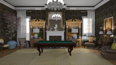 CLASSIC BILLIARD ROOM - by arquicass