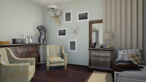 new arrangement - Bedroom - by leelowells1994