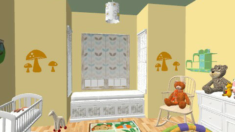 Non-Pink Nursery - Classic - Kids room - by Mappede