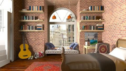 student studio - Living room - by Yoshi Yogataga
