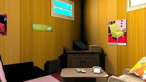 195o - Retro - Living room - by shelbyboyko