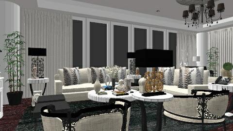 saks - Minimal - Living room - by nataliaMSG