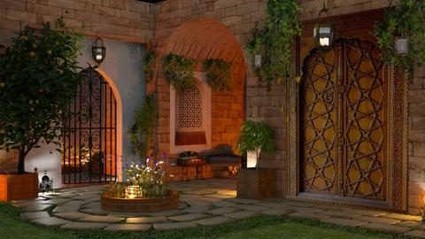 Inner Courtyard - by marocco