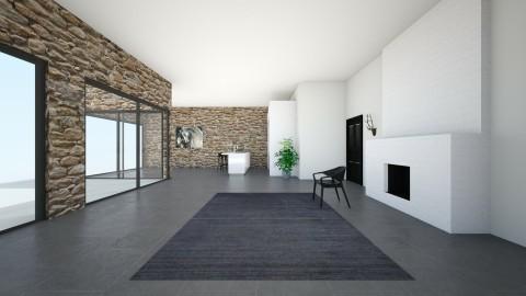 Superbe maison - Living room - by amandine evieux