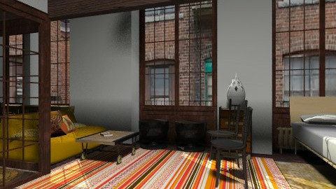 my biz ind4 - Eclectic - Office - by zituka