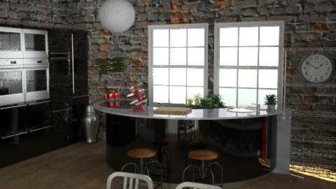 WarehouseConversion - Kitchen1 - Eclectic - Kitchen - by camilla_saurus