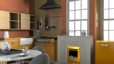 kitchen - Rustic - Kitchen - by vanette