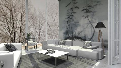 Sad mood - Minimal - Living room - by milyca8