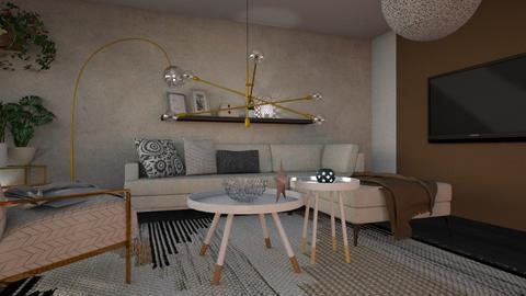 1011 4 - Living room - by Riki Bahar Elbaz