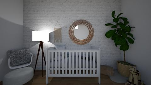 nursery room - Modern - Kids room - by 27aleger