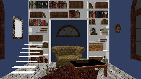 Bookroom - Vintage - Living room - by SadMuffin