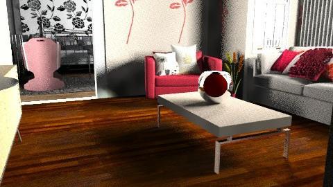 house - Retro - Office - by Kimberleyx
