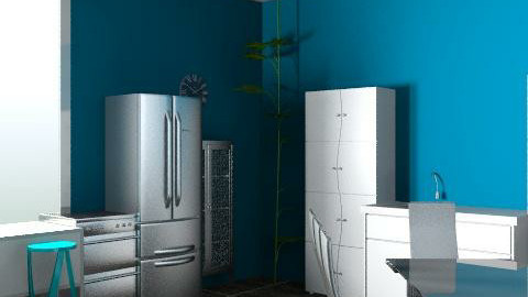 Kitchen2 - Retro - Kitchen - by ashley_d