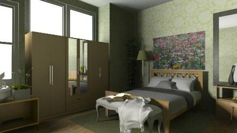 greenroom - Bedroom - by apriljoyeby