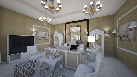 office interior  - Classic - Office - by Nikos Tsokos