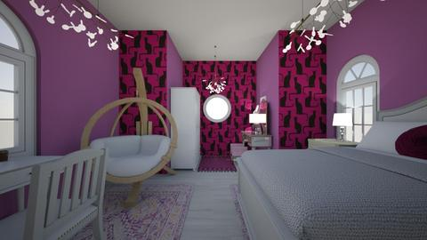 Avas Hideaway - Bedroom - by Nikki Lipstick