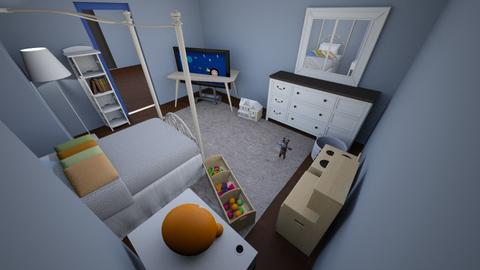 Kid Bedroom 1 - Modern - Kids room - by ilovepizza