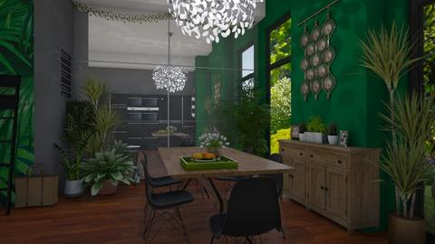 green house - Glamour - Kitchen - by patriicia popa