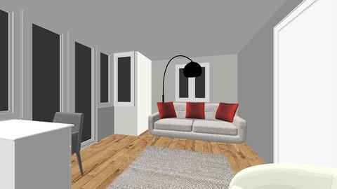 JM_Pankaj - Living room - by hwhomedesign