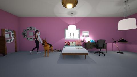 teen bedroom - Bedroom - by abigailbeasley1
