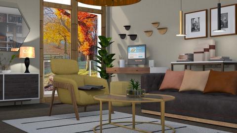 M_Autumn lights - Living room - by milyca8
