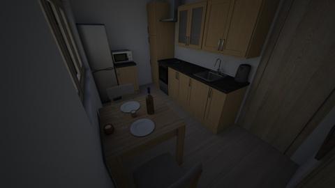 10 - Kitchen - by LittleWaffle