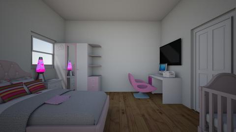 Girl Bedroom  - Bedroom - by Jordin12