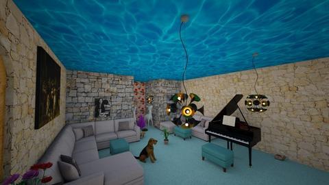 A Little Saloon - Classic - Living room - by hacikahraman