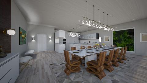 Citizen OAK - Modern - Dining room - by danes
