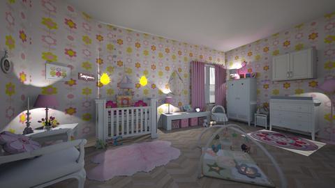 Haring Oak - Bedroom - by hillygabe
