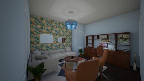 a cozy sheek office  - Classic - Office - by s _ i _ j