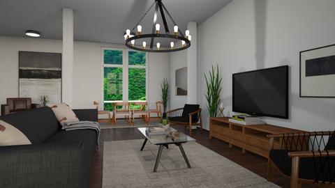 Columns - Living room - by luiza cruz
