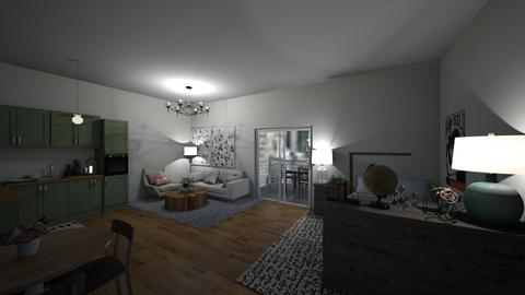apartment  - Rustic - by cupcat24