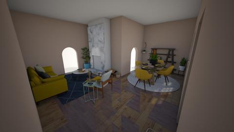 contemporary - Living room - by Sabine Mason