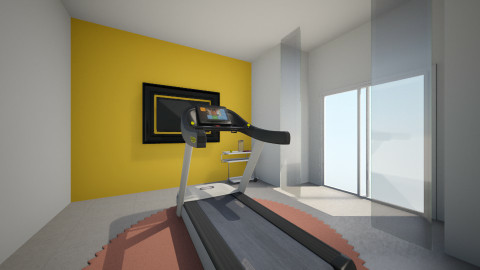 Workout Roon - Modern - by ElsaofDesign