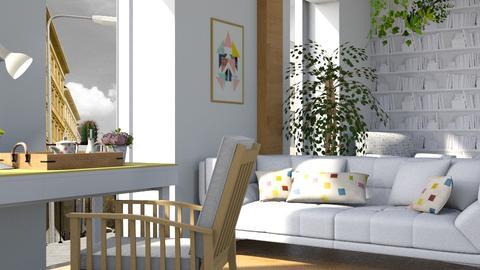 Sundance Desk - Living room - by ZuzanaDesign