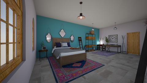 Chambre DArtiste - Bedroom - by Clalfie4