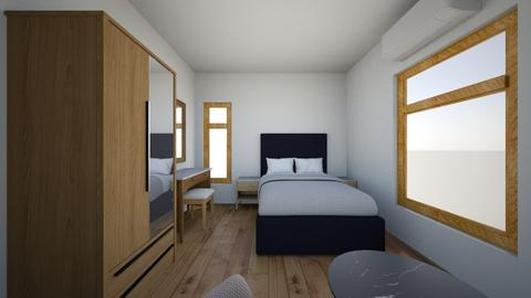 Deans Room New 4 - Minimal - Bedroom - by deanasor