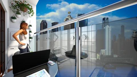 Apartment Balcony - by SammyJPili