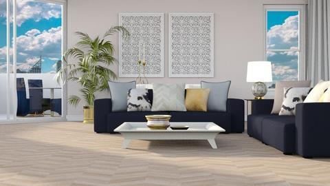 HARING OAK - Living room - by jagwas