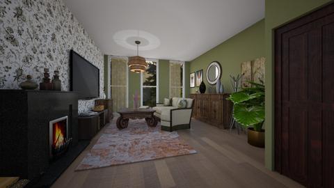 Template room - Living room - by Noa Sardoz