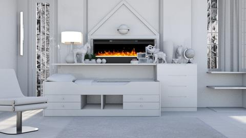 White Pullout  - Modern - Bedroom - by Jessica Fox